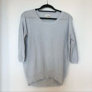 Aritzia Wilfred Balzac Silk Cashmere Sweater
